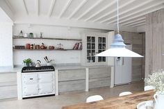 I like the first kitchen with the bead board like paneled cabinets. Which is your favorite (if any)?