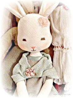 Vintage style bunny rabbit sewing Pattern/ by VerityHopesWardrobe