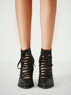 Free People Sidney Lace Up Boot, $168.00