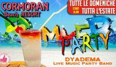 Cormoran Beach Resort | Summer Party Tutte Le Domeniche http://affariok.blogspot.it/