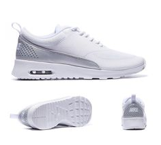Nike Womens Air Max Thea Text Trainers White S92394