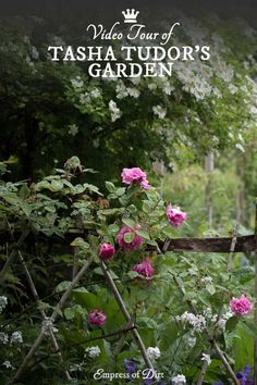 A video tour showing the beautiful gardens of Tasha Tudor, also known as Corgi Cottage, in Vermont, USA.