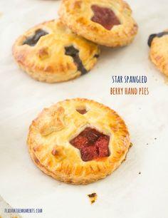 Star Spangled Berry Hand Pies {Farmer's Market Friday}