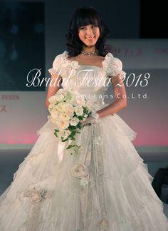 Bridal Fair.Wedding Bouquet.JFLA本部華夢フラワーデザインスクールコラボブライダルイベント.