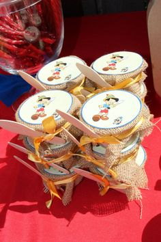 Applesauce Pinocchio party By Happy Kids Chicago