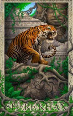Shere Khan by Daniel Warren