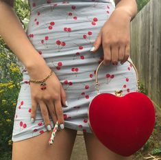 Like this look minus the cherry cigarette Retro, Grunge, Lolita, Fashion Beauty, Womens Fashion, Red Fashion, How To Pose, Red Aesthetic, Belle Photo