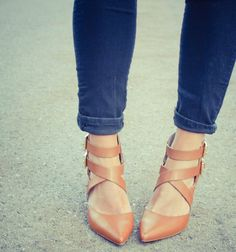 { tan heels. go with everything }