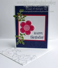 Posy Punch Birthday by mrshmw - Cards and Paper Crafts at Splitcoaststampers
