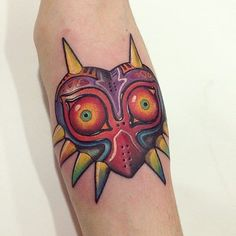 Majora's Mask tattoo done by @mimi_tattoo. To submit your work use the tag #gamerink And don't forget to share our page too!  #tattoo #tattoos #tatuaje #tatuajes #ink #videogametattoo #gamertattoo #gamerink #videogames #gamer #gaming #nintendo #n64 #3ds #nintendo3ds #majorasmask #thelegendofzeldamajorasmask #thelegendofzelda #zelda #majorasmasktattoo #thelegendofzeldamajorasmasktattoo #thelegendofzeldatattoo #zeldatattoo #nintendotattoo
