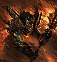 Monsters & Beasts Database: Deathwing
