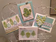 Lighthearted Leaves - Stampin' Up