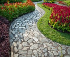 Looking for the best landscaping services? We offer affordable and high-quality full landscaping services throughout the Texas. Let our professional help you to choose the right options for you. Get a FREE estimate now! Landscaping Trees, Landscaping Supplies, Landscaping With Rocks, Front Yard Landscaping, Architecture Images, Landscape Architecture, Garden Stones, Garden Paths, Garden Bed
