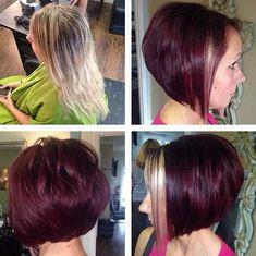 30 Short Trendy Haircuts: #26. Trendy New Short Purple Hair