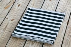 When in Rome - Cotton Knit Swaddle Stretch Snuggle Baby Boy Unisex Gender Neutral Blanket Black Gray by Mint Chocolate Chip