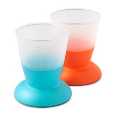 Baby Bjorn Baby Cup helps baby learn to drink out of a cup
