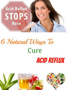 Stan's Health Blog: 6 Cures For Acid Reflux Which Can Naturally Give Relief