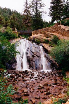 Colorado Springs family-friendly hike- Helen Hunt Falls
