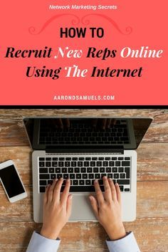 "How to recruit new reps online using the Internet. Start speaking to only people who are interested, motivated and looking to join! MY #1 Proven Internet Strategy I use to grow my Network Marketing business while I travel the world. When I shifted my focus to prospecting online using ""attraction marketing"" I was able to recruit online REJECTION FREE, and have people calling ME to join my business! Click below to learn more!"