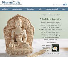 #Buddhist teaching from #Pema Chödrön from #dharmacrafts.com