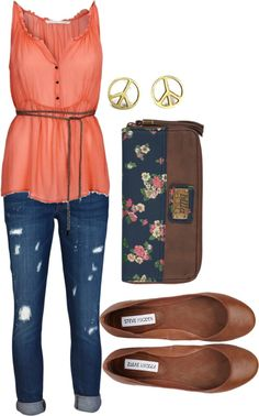 """comfy casual"" by meagann on Polyvore"