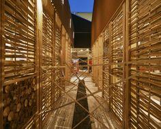 Save the Children Pavilion - Expo Milano 2015 - Architectural project: Aoumm  (Argot ou La Maison Mobile) - Lighting design: Metis Lighting – Lighting products: iGuzzini Illuminazione Photo: Leo Torri #LedTube #iGuzzini