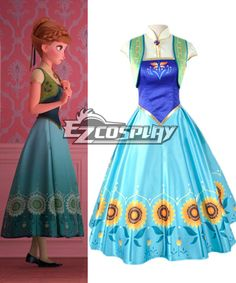 Disney Frozen Fever New Short Anna Dress Cosplay Costume #EveryoneCanCosplay! #Cosplaycostumes #AnimeCosplayAccessories #CosplayWigs #AnimeCosplaymasks #AnimeCosplaymakeup #Sexycostumes #CosplayCostumesforSale #CosplayCostumeStores #NarutoCosplayCostume #FinalFantasyCosplay #buycosplay #videogamecostumes #narutocostumes #halloweencostumes #bleachcostumes #anime