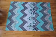 Image result for chevron quilt pattern