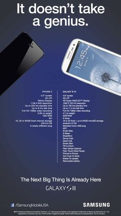 Samsung responds to the iPhone 5 with inflammatory new ad ... I don't know why it made me laugh :)