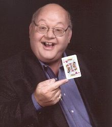 "Abb Dickson, magician. Dickson started doing comedy magic in his senior year in high school and went full time professional in 1970. He toured the United States, Canada, Hawaii, and Puerto Rico from 1975 to 1986 with his own ""Presto!"" illusion show that included a crew of thirty."