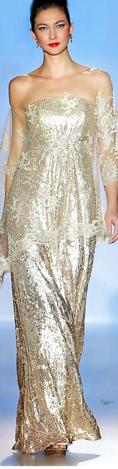White and Gold Wedding. Gold Bridesmaid Dress. Elegant and Glamorous. Patricia Avendaño 2014