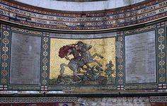 The Royal Artillery Victoria Cross Memorial at St George's Woolwich: Victoria Cross memorial faces ruin