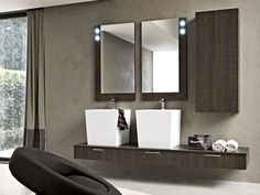 Contemporary style washbasin unit with drawers with mirror PLAY | Washbasin unit - Cerasa: http://www.cerasa.it/preview_composizione.php?Main=2=48