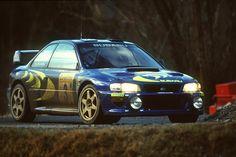 Subaru Impreza WRC98 of Colin McRae at 1998 Monte Carlo Rally. Best looking of the Subaru's.