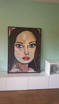 Jaris Painting acrylic bleu eyes
