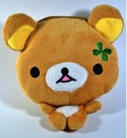 Rilakkuma Coin Purse. This have along sleeve for you hanging on your shoulder.  Only IDR 60.000  Get more from www.kawaiishoppu.com Promo Free Shipping until 31 December 2013
