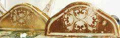 Restoration bedside gold leaf