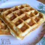 Low carb almond flour waffles recipe