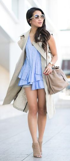 Shades Of Beige Summer Style by Wendy's Lookbook