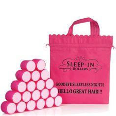 Sleep In Rollers Mega Bounce Rollers X 20 Inc Bag: Image 1