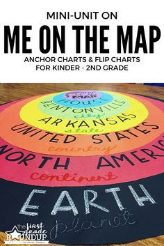 What a great way to start off the school year! Get your kids oriented on where they are on the map with this engaging Me On the Map activity!
