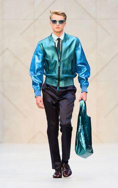 Burberry Prorsum Mens Wear SS'13 #MFW #runwayfashionary