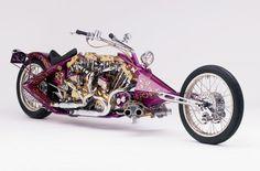 Some Custom Bikes From Arlen Ness