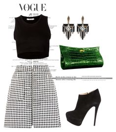 """""""Untitled #2400"""" by janicemckay ❤ liked on Polyvore featuring Lautrec, Julien David, Giuseppe Zanotti, Lulu Frost, women's clothing, women, female, woman, misses and juniors"""