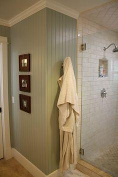 Tile on ceiling ~ good idea house tour {master bath} — The Pleated Poppy