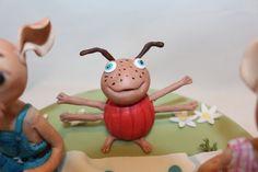 Jonalu - Ludwig cake topper - gumpast ladybug