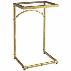Zhu C Table - Gold - great for sectional