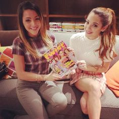 Niki and Gabi DeMartino took over our Pinterest!