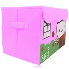 Foldable Storage Box gives your company name and brand, a well renowned name among your customers and in the market which can be used for storing items through its wide range of features like foldable, large storage space, two handles bringing much of the convenience to your customers. http://promotionalsworld.com/foldable-storage-p-7299.html