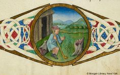 De re rustica, MS M.139 fol. 141r - Images from Medieval and Renaissance Manuscripts - The Morgan Library & Museum